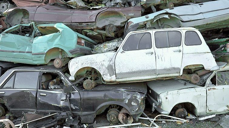 What will happen to my old car after I sell it